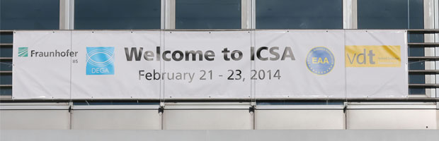 ICSA 2014: Impressive and enveloping sound | ©Fraunhofer IIS/Kurt Fuchs