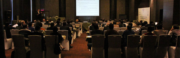 Bringing Fraunhofer technology to India – Fraunhofer IIS conducts workshop on audio coding for digital TV broadcasting | ©Fraunhofer IIS