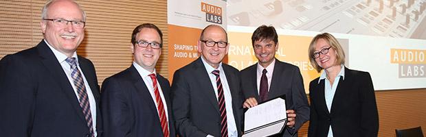Fraunhofer IIS and Friedrich-Alexander-Universität Erlangen-Nürnberg extend their partnership | ©Fraunhofer IIS/Kurt Fuchs