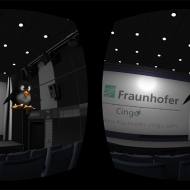Screenshot of the new VR streaming app | ©Fraunhofer IIS