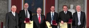 Recipients of the Eduard Rhein Technology Award 2015, ©Fraunhofer IIS