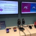 "Qualcomm demoed EVS as ""Ultra HD Voice"""