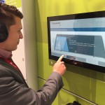 In addition to the live demo, visitors of the Fraunhofer booth could compare the great audio quality of EVS in a file based demo.